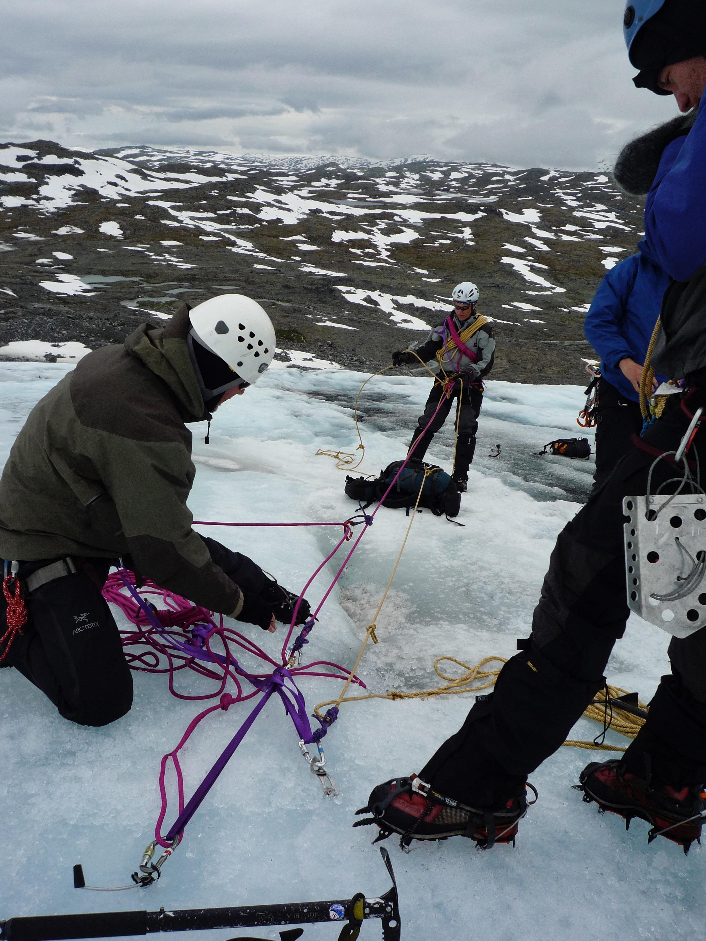 What crevasse rescue equipment?