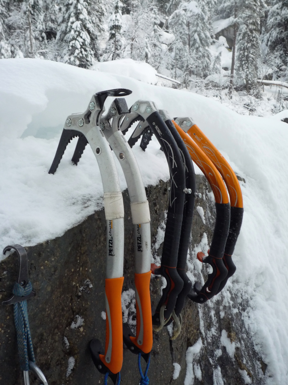 What ice axe?
